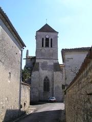 Eglise Saint-Pierre - Français:   église de Mérignac, Charente, France