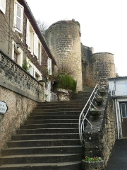 Château - English:   castle of Montignac, Charente, SW France