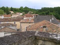Château -  Montignac-Charente vu depuis le château