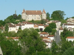 Château - English: castle of Montmoreau, Charente, SW France