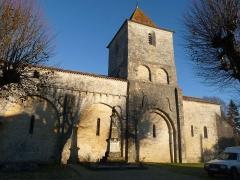 Eglise Saint-Martial - Français:   église de Mouton, Charente, France