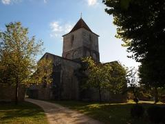 Eglise Saint-Martial - Français:   église de Mouton en Charente (France)
