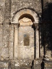 Eglise Saint-Martial - Français:   sculpture romane de l\'église de Mouton en Charente (France)
