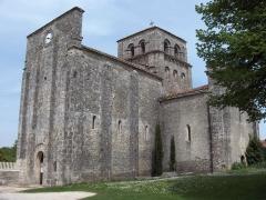 Eglise Saint-Michel - English: Church of Nanclars - Charente - France - Europa