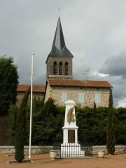 Eglise Saint-Pierre - English: church and war memorial