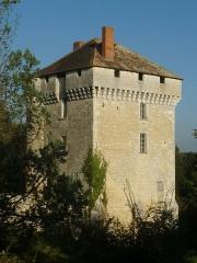 Château des Pins - English: castle of Les Pins, Charente, SW France