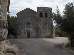 Eglise Saint-Cybard - English: Church of Pranzac - Charente - France - Europe