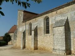 Eglise Saint-Cybard - English: church of Pranzac, Charente, SW France