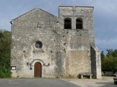 Eglise Saint-Cybard - Français:   Eglise de Pranzac, Charente, France