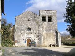 Eglise Saint-Cybard - Français:   église de Pranzac, Charente, France
