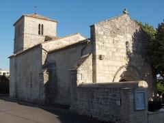 Eglise Saint-Vincent - English: Church of Puymoyen - Charente - France - Europa