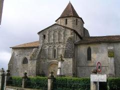 Eglise Saint-Pierre -  église de Reignac, Charente, France