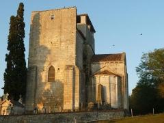 Eglise Saint-Cybard - English: church of Rivières, Charente, SW France