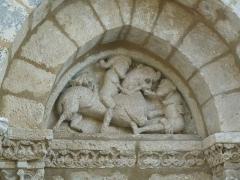 Eglise Saint-Sébastien - English: church of La Rochette, Charente, SW France