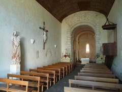 Eglise Saint-Amant - English: church of St-Amant-de-Bonnieure, Charente, SW France