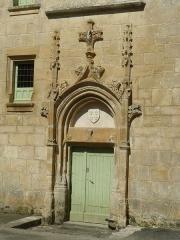 Logis - English: castle of St-Amant-de-Bonnieure, Charente, SW France
