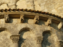 Eglise Saint-Jacques de Conzac - English: romanesque church of Conzac, Saint-Aulais-la-Chapelle, Charente, SW France