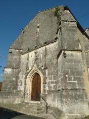 Eglise Saint-Bonnet - English: church of Saint-Bonnet, Charente, SW France