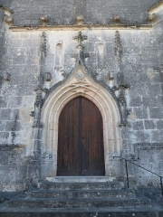 Eglise Saint-Bonnet - Français:   Portail de l\'église de St-Bonnet, Charente, France