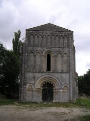Eglise de Châtres - Français:   abbaye de Châtre à Saint-Brice (16), France