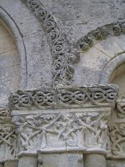 Eglise de Châtres - Français:   abbaye de Châtre à Saint-Brice