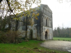 Eglise de Châtres - English: old abbey of Châtre, St-Brice, Charente, SW France
