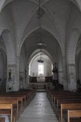 Eglise Saint-Claud - Deutsch: Katholische Kirche Saint-Claud in Saint-Claud im Département Charente (Nouvelle-Aquitaine/Frankreich), Innenraum