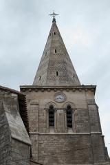 Eglise Saint-Claud - Deutsch: Katholische Kirche Saint-Claud in Saint-Claud im Département Charente (Nouvelle-Aquitaine/Frankreich), Glockenturm