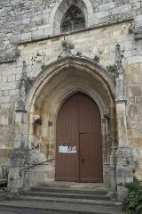 Eglise Saint-Claud - Deutsch:   Katholische Kirche Saint-Claud in Saint-Claud im Département Charente (Nouvelle-Aquitaine/Frankreich), Portal