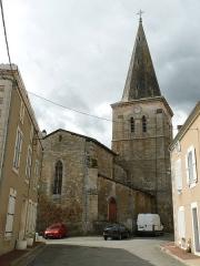 Eglise Saint-Claud - Français:   église de St-Claud, Charente, France