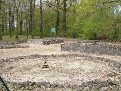 Théâtre gallo-romain dit des Bouchauds - Français:   sanctuaire du site gallo-romain des Bouchauds, à Saint-Cybardeaux, en Charente