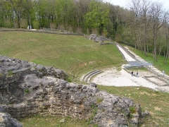Théâtre gallo-romain dit des Bouchauds -  théâtre gallo-romain des Bouchauds