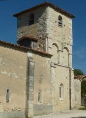 Eglise Saint-Félix - English: church of St-Félix, Charente, SW France