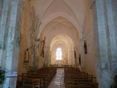 Eglise Saint-Front - Français:   intérieur de l\'église de St-Front, Charente, France