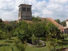 Eglise Saint-Germain - English: Church of Saint Germain de Montbron - Charente - France - Europe