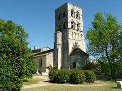 Eglise Saint-Pierre - Français:   église de Sers, Charente, France