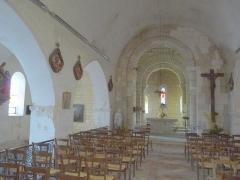 Eglise Saint-Pierre - Français:   Eglise de Sers, Charente, France