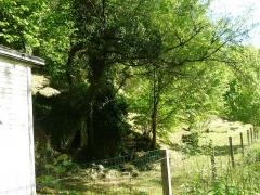 Gisement préhistorique - Français:   extérieur du Roc de Sers, Charente, France