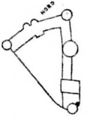 Château - English: Plan of the Château de Verteuil, Charente 1:2500 scale