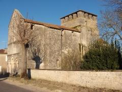 Eglise Notre-Dame - English: Church of Voulgézac - Charente - France - Europa