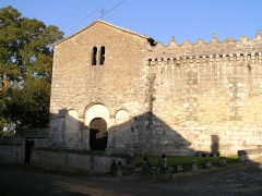 Château - Français:   la chapelle castrale du château du vieux bourg de Vouzan