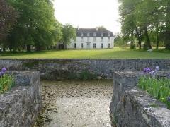 Ancienne abbaye de Fontaine Vive, ou de Grosbot - Français:   Abbaye de Grosbot (Charras, Charente, France). Le parc et les bassins