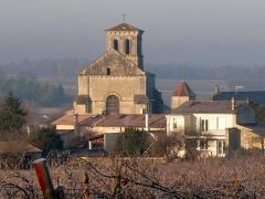 Eglise Saint-Martin - English: church of Juillac-le-Coq, Charente, SW France