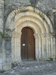 Eglise Saint-Martin-de-Louzac - Français:   église de Louzac, Charente, France