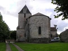 Eglise Saint-Martin-de-Louzac -  église de Louzac à Louzac-Saint-André, Charente, France