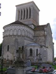 Eglise Saint-Pierre -  église de Passirac, Charente, France