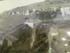 Moulin à papier du Verger - English: paper mill of Puymoyen, Charente, SW France in 1900