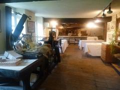 Moulin à papier du Verger - English: paper mill of Puymoyen, Charente, SW France. Exhibition room