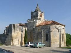 Eglise Saint-Maxime - Français:   Eglise de Saint-Même-les-Carrières (16), France
