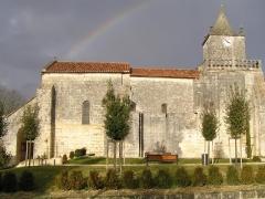 Eglise Saint-Maxime -  église St-Maxime de Saint-Même-les-Carrières, Charente, France